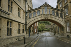 Brücke von Seufzern, Oxford Stockfotografie