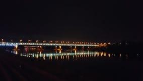 Brücke in Warschau Stockfotografie