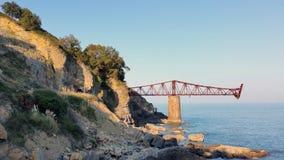 Brücke zu nirgendwo Stockbilder