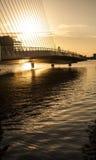 Brücke zu nirgendwo Stockbild