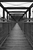 Brücke zu nirgendwo Lizenzfreie Stockfotos
