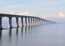 Brücke zu PEI Stockbild