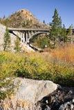 Brücke zum Donner Durchlauf lizenzfreies stockfoto