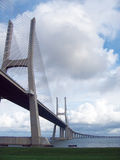 Brücke zum Horizont Lizenzfreies Stockbild