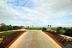 Brücke zum Paradies Lizenzfreies Stockbild