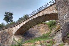 Brücke zum Philadelphia-Kunst-Museum Lizenzfreies Stockfoto
