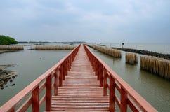 Brücke zum Roten Meer Lizenzfreie Stockfotografie