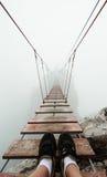 Brücke zur Unbegrenztheit Stockfotografie