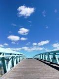 Brücke zur Zukunft Stockfotos