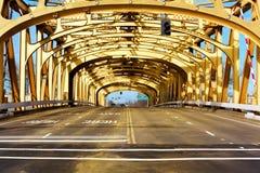 Brückenüberspannung Stockbilder