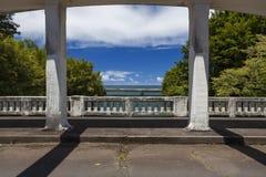 Brücken über Einlass bei Hilo, hallo lizenzfreie stockfotografie
