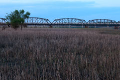 Brücken alt und neu in Bloomington Minnesota Lizenzfreie Stockfotografie