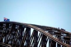 Brücken-Aufstieg stockfotos