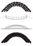 Brücken-Auswahl Stockbild