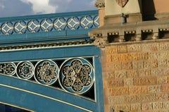 Brücken-Detail lizenzfreie stockfotografie