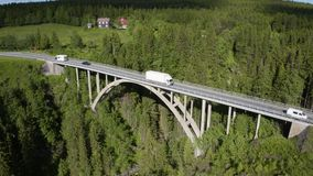 Brücken in Europa stock video footage