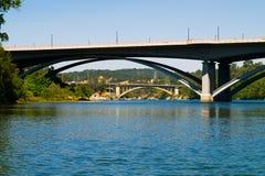 Brücken in Folsom Kalifornien Lizenzfreie Stockfotografie