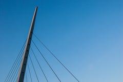 Brücken-Kabel Stockbild