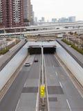 Brücken und Tunnels Lizenzfreies Stockfoto