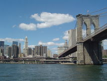 Brücken von New York Stockfotografie