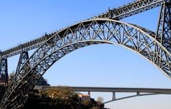 Brücken von Porto Lizenzfreie Stockbilder
