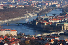 Brücken von Prag Stockbilder