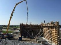 Brückenarbeitsstelle Lizenzfreies Stockfoto