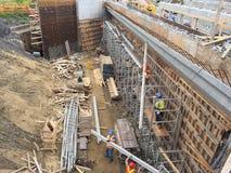 Brückenarbeitsstelle Lizenzfreie Stockbilder