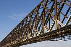Brückenaufbau Stockfotografie