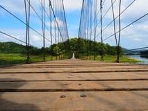 Brückenfall Stockfoto