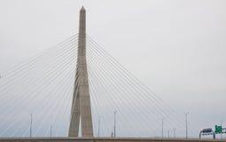 Brückenkontrollturm Lizenzfreies Stockbild