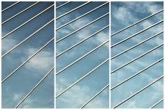 Brückenlinien Lizenzfreies Stockfoto