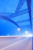 Brückennacht Stockbilder