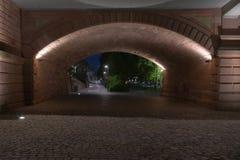 Brückenpier Lizenzfreies Stockfoto