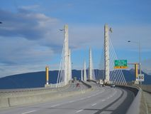 Brückenplattform stockfotografie