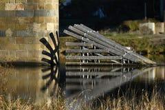 Brückensäule stockfotos