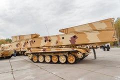 Brückenschicht MTU-72. Russland lizenzfreies stockbild