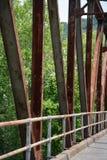 Brückenunterstützungen lizenzfreie stockfotografie