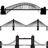 Brückenvektor Stockfotografie