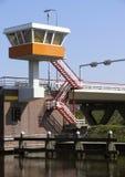 Brückenwächterkontrollturm Lizenzfreies Stockbild