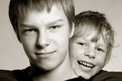 Brüder Stockfotografie
