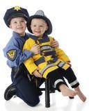 Brüder für öffentlichen Dienst Stockbilder
