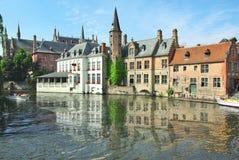 Brügge, alte Stadt, Sonderkommandos Stockfotografie