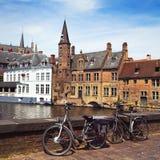 Brügge-Ansicht, Belgien Lizenzfreies Stockbild