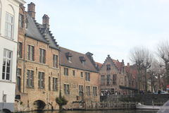 Brügge - Belgien stockfotos