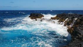 Brüllen des Ozeans lizenzfreies stockbild