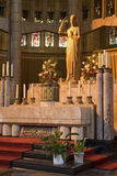 Brüssel - Altar in der Basilika des heiligen Inneren Lizenzfreie Stockfotos