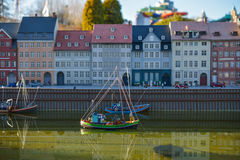 BRÜSSEL, BELGIEN - 5. Dezember 2016 - Mini Europe-Miniaturen parken in Brüssel Stockfotos