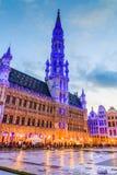 Brüssel, Belgien Rathaus von Brüssel Lizenzfreie Stockfotos