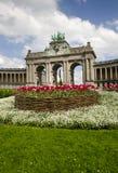 Brüssel-Bogen Stockbild